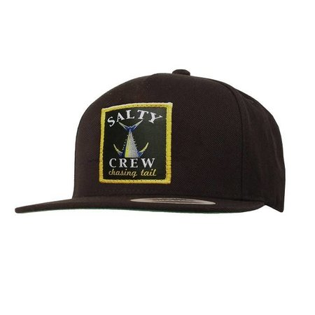 Salty Crew Chasing Tail Patched Hat Black