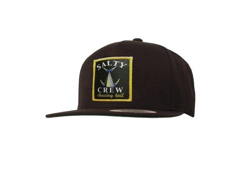 Salty Crew Salty Crew Chasing Tail Patched Hat Black