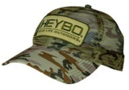Heybo HeyBo Old School Camo Mesh Hat