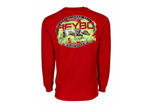 Heybo HeyBo On Point Cardinal Long Sleeve