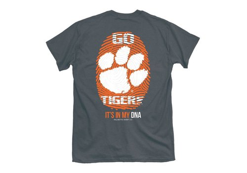 Clemson Thumbprint It's My DNA Smoke Gray