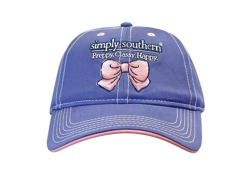 Simply Southern Simply Southern Preppy Classy Happy Periwinkle Hat