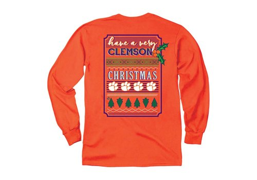 Have a Merry Clemson Christmas LS