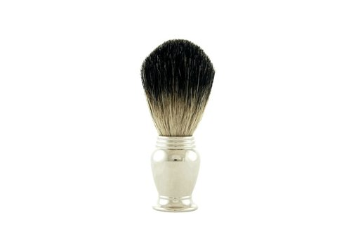 Colonel Ichabod Conk Pure Badger Brush Chrome