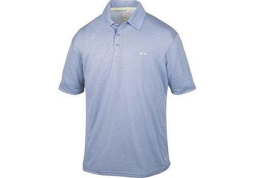 Drake Drake Heathered Polo Powder Blue
