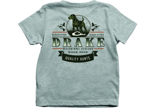 Drake Drake Youth Quality Hunts Tee Max-5 Athletic Heather