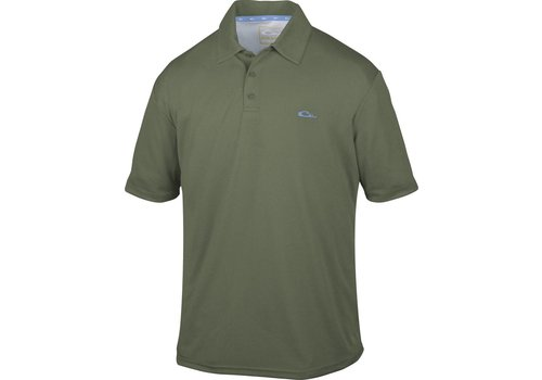 Drake Drake Heathered Polo Green