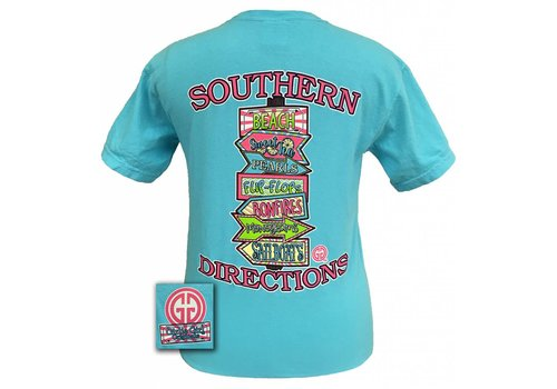 Girlie Girl Girlie Girl Southern Directions Lagoon Blue