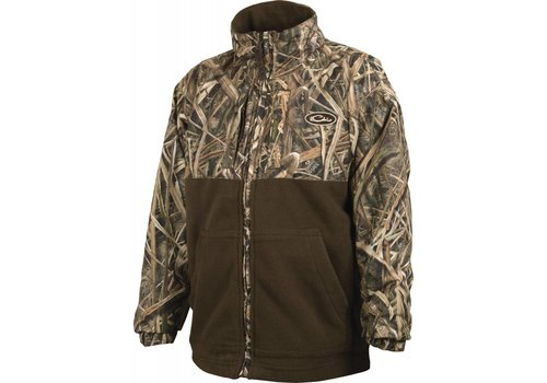 Drake Drake Youth Eqwader Full Zip Mossy Oak Blades