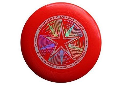 Discraft Discraft Ultra-Star Sportdiscs Bright Red