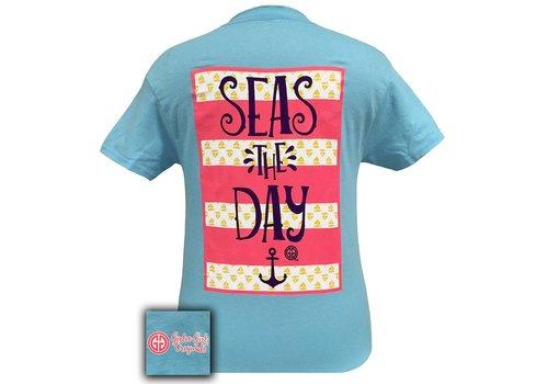 Girlie Girl Girlie Girl Seas The Day Sky Blue