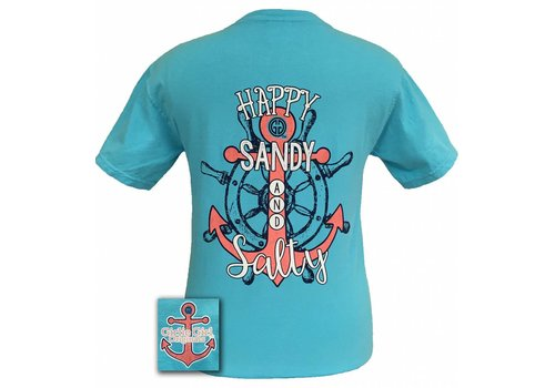 Girlie Girl Girlie Girl Happy Sandy Salty Lagoon Blue