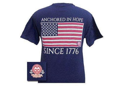 Girlie Girl Girlie Girl Anchored In Hope Navy