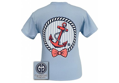 Girlie Girl Girlie Girl Coral Anchor Light Blue