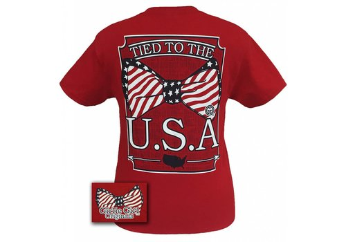 Girlie Girl Girlie Girl Tied to USA Red