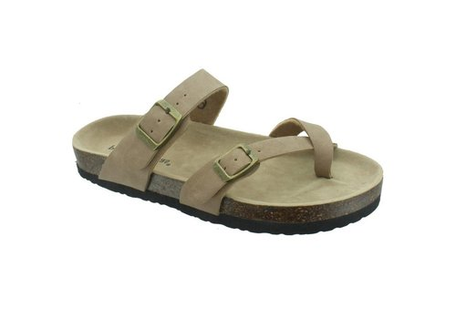 Pierre Dumas Outwoods Bork Sandal Taupe