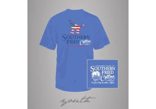 Southern Fried Cotton Southern Fried Cotton American Hound SS Youth T-Shirt