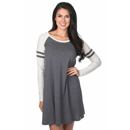 Varsity Long Sleeve Dress