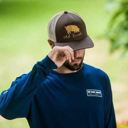 Pig Brown Hat