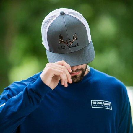 Deer Antler Graphite Hat