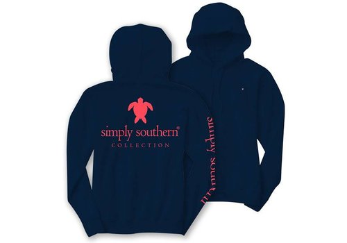 Simply Southern Simply Southern Turtle Logo LS Hoodie