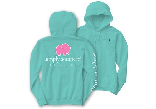 Simply Southern Simply Southern Elephant Logo LS Hoodie