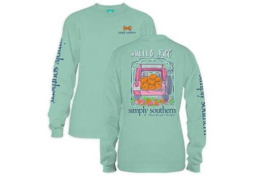 Simply Southern Simply Southern Hello Fall LS T-Shirt
