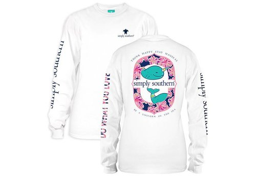 Simply Southern Simply Southern Think Happy Stay Magical LS T-Shirt
