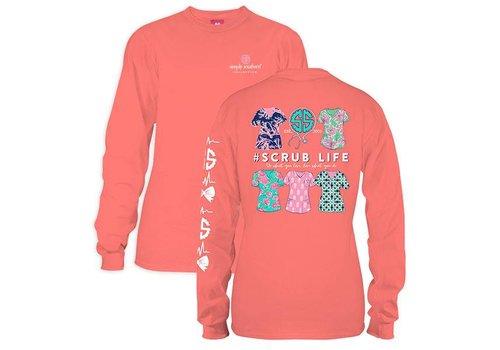 Simply Southern Simply Southern Scrub Life LS T-Shirt
