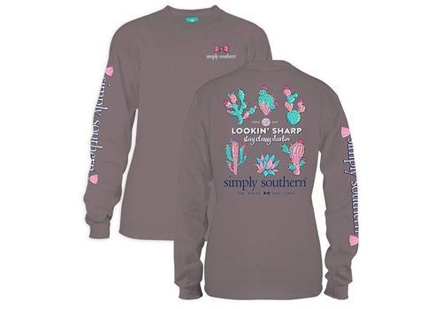 Simply Southern Simply Southern Lookin' Sharp LS T-Shirt