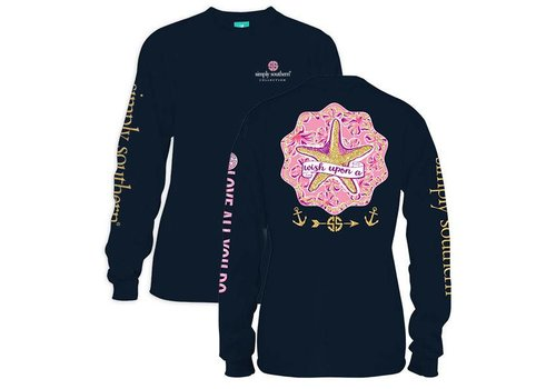 Simply Southern Simply Southern Wish Upon a Star LS T-Shirt