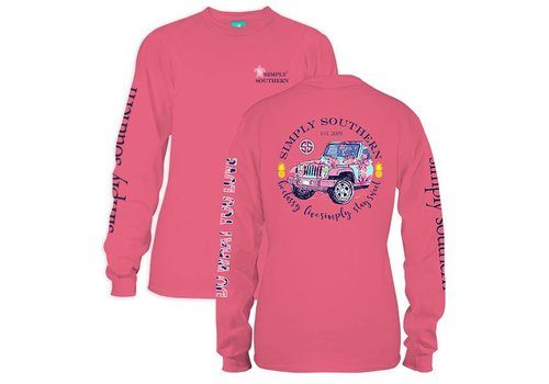 Simply Southern Simply Southern Jeep LS T-Shirt