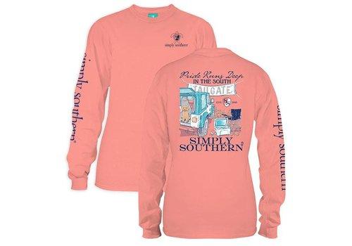 Simply Southern Simply Southern Pride Runs Deep LS T-Shirt