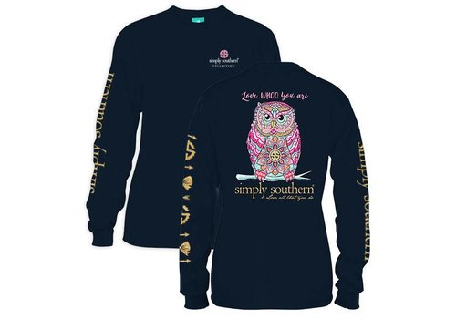 Simply Southern Simply Southern Whoo Owl LS T-Shirt