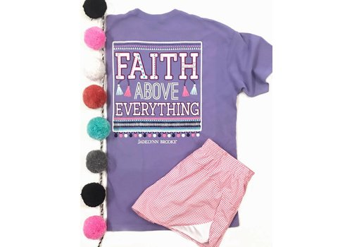 Jadelynn Brooke Jadelynn Brooke Faith Above Everything Tee