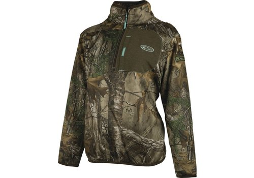 Drake Drake 1/4 Zip With Agion Realtree