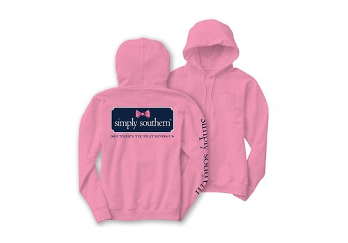 Simply Southern Simply Southern Bow Logo LS Hoodie