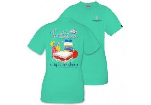 Simply Southern Simply Southern Tomato Sandwich SS T-Shirt Aruba