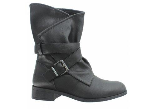 Pierre Dumas Pierre Dumas City Boot Black