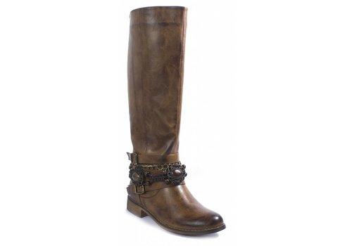 Pierre Dumas Pierre Dumas Bolonga Boot New Tan