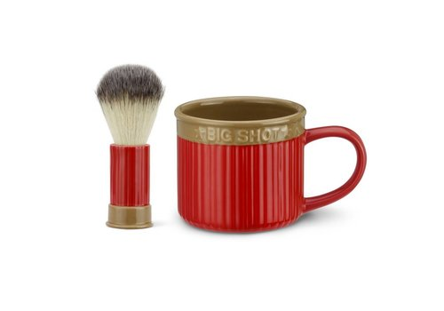 Big Sky Shot Shell Shaving Set