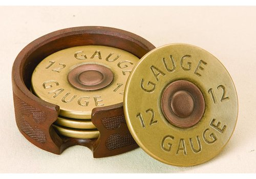 Big Sky Shotgun Shell Coaster Set of 4