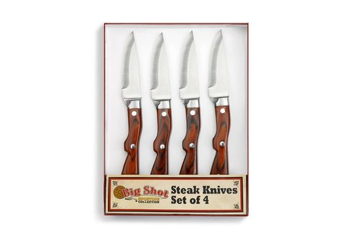 Big Sky Big Shot Steak Knife Set of 4