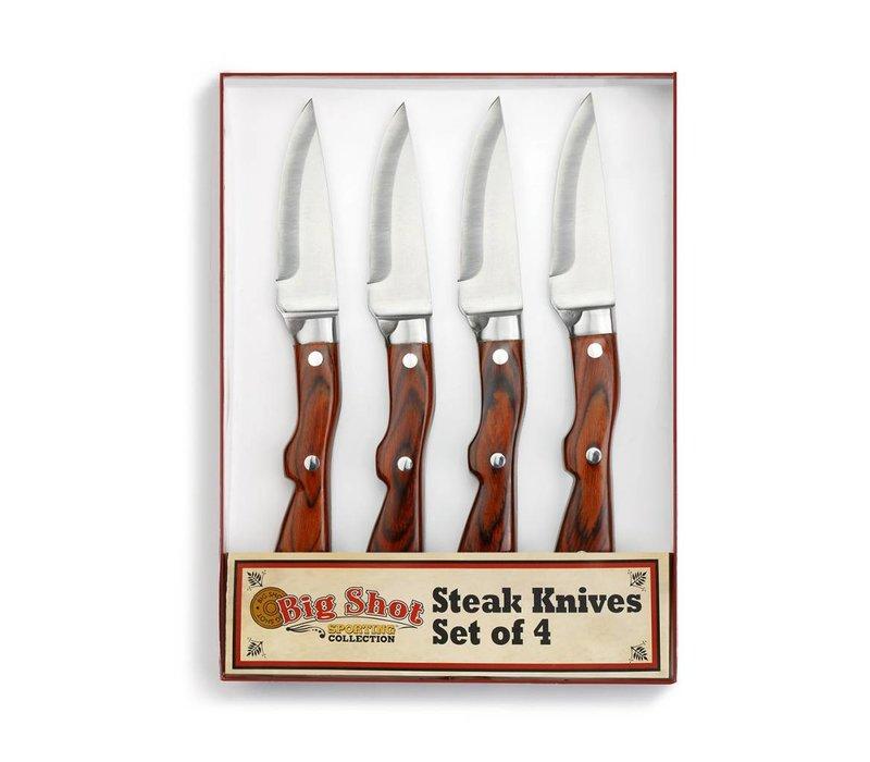 Big Shot Steak Knife Set of 4