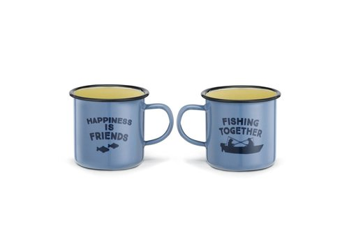 Big Sky Fishing Enamelware Mug