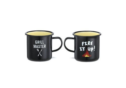Big Sky Grill Master Enamelware Mug