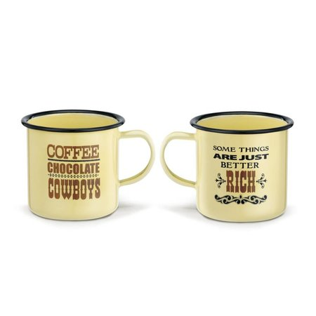 Cowboys Rich Enamelware Mug