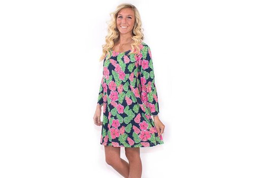 Simply Southern Simply Southern Bell Sleeve Emma Dress