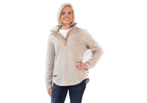 Simply Southern Simply Southern Knit Pullover Peeble