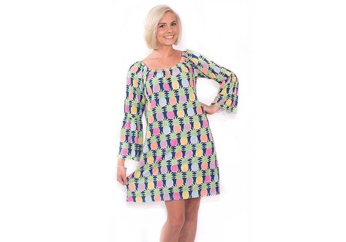 Simply Southern Simply Southern Bell Sleeve Tasty South Dress